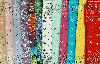 $5.95 • Buy U PICK Bandana - Multi Use: Face Covering - Hair Accessory BUY MORE SAVE MORE