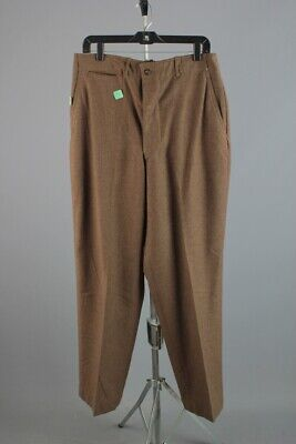 Vtg Men's 1940s NOS WWII US Army Wool Dress Pants 32x34 40s WW2 Trousers • 65.82£