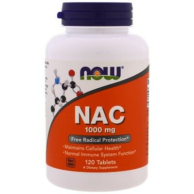 AU99.85 • Buy 2 X NAC, N-Acetyl Cysteine, 1000 Mg, 120 Tablets(240 Tabs In Total)