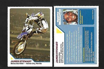 $5.50 • Buy RARE 8/09 SI For Kids JAMES STEWART Rookie Card, Motocross X Games #394