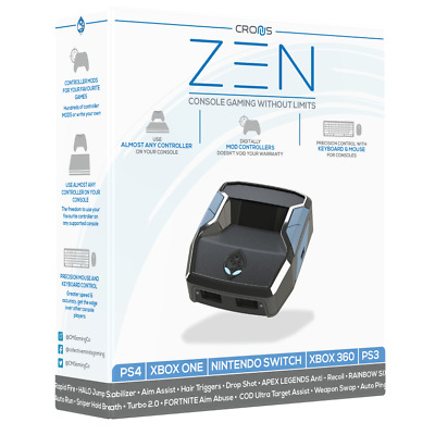 AU179.90 • Buy Official Cronus ZEN Controller Adapter PS4 Slim Pro PS3 Xbox One X S Switch