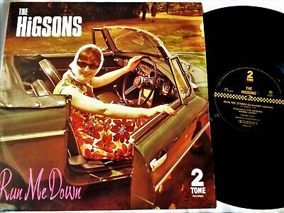 THE HIGSONS Run Me Down VINYL 12  UK Two Tone Records 1983 Specials Ska Madness • 35£