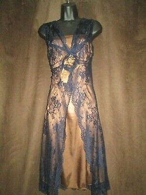 HEINE Lace And Satin Summer Party Dress  Size 8 • 12.99£