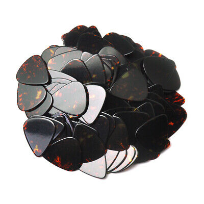 $ CDN14.63 • Buy 100pcs New Blank Heavy 0.96mm Guitar Picks Plectrums Celluloid Brown Tortoise