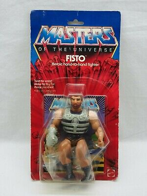 $275 • Buy MOTU,VINTAGE,FISTO,Masters Of The Universe,MOC,carded,sealed,He-Man