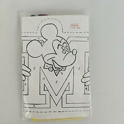 £10.64 • Buy Mickey Mouse Cross Stitch Kit Unopened