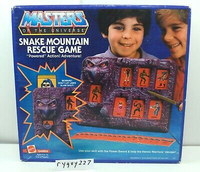 $350 • Buy MOTU, Snake Mountain Rescue Game, Masters Of The Universe, MISB, Sealed, He-Man