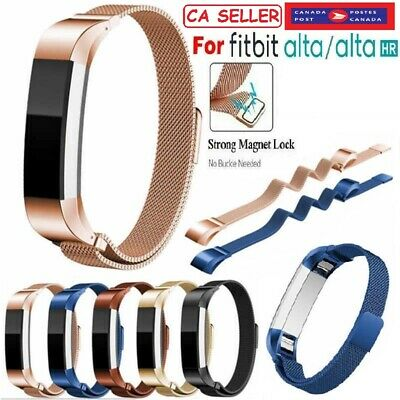 $ CDN11.99 • Buy Strap Replacement Stainless Steel Magnetic Lock Band For Fitbit Alta/Alta HR