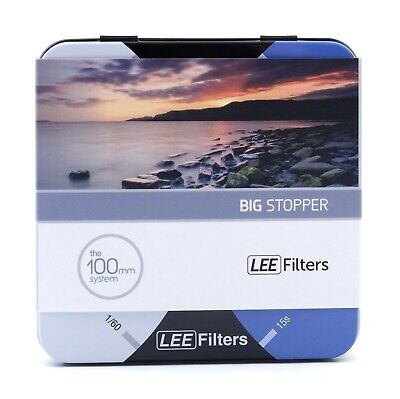 £99 • Buy Lee Big Stopper 10 Stop Filters 100x100mm Glass Filter [BS10100U2]
