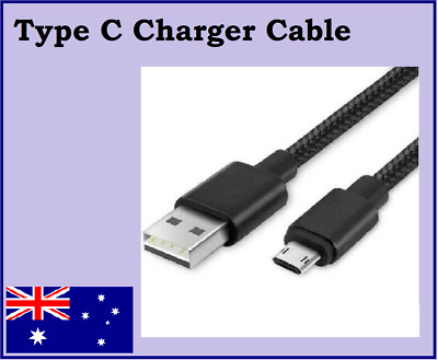 AU3.25 • Buy Type-C USB Charger Cable Nylon Braided 1M