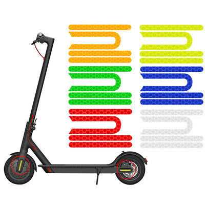 AU8.41 • Buy 4Pcs/set For Xiaomi Mijia M365 Pro Electric Scooter Reflective Sticker Reflector