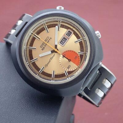 $ CDN906.92 • Buy Seiko 5 Sports 6139-8010 Speedtimer Vintage Day Date OH Automatic Mens Watch
