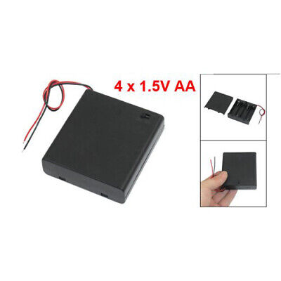 AU4.97 • Buy 1X(ON/OFF Switch 5.5  Leads Battery Holder Box Case For 4 X 1.5V AA Batteri 5O2)
