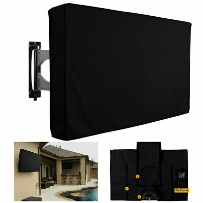 Waterproof TV Cover Television Protector For 22'' To 70'' Smart TV LCD LED HDTV • 23.85£
