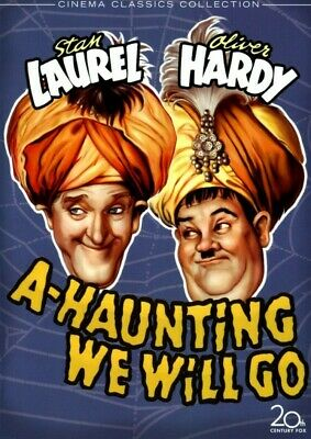 Laurel And Hardy Dvd - A Haunting We Will Go - New And Sealed • 5£