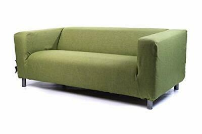 Replacement Easy Clean Slipcover Fit Ikea Klippan 2 Seater Polyester Sofa Cover  • 48.97£