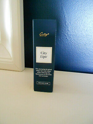 $32.99 • Buy  CITY LIPS Plumping Treatment CLEAR NIB Sealed .16oz Ultra High-Shine