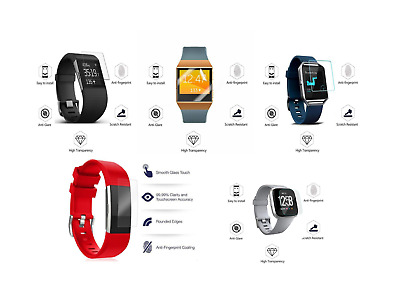 $ CDN2.90 • Buy HD Full Screen Protector For Fitbit Versa Ionic Blaze Surge Charge 2 3 Lite A1