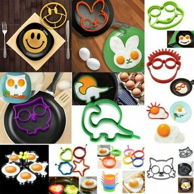 $2.59 • Buy 30 Styles Egg Mold Fried Mould Culinary Pancake Ring Shaper Cooking Kitchen Tool
