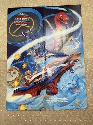 $49.95 • Buy He-Man And The Masters Of The Universe Poster 16 1986 21.5 In X 16 In