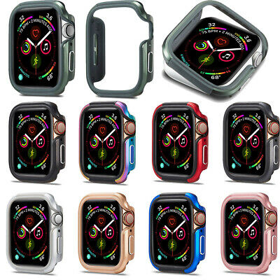 $ CDN16.73 • Buy New For Apple Watch Series 5 4 Case Protector Cover Bumper Shell Frame 40mm 44mm