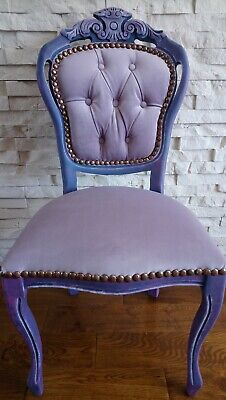 Shabby Chic French Style Carve Chair • 95£