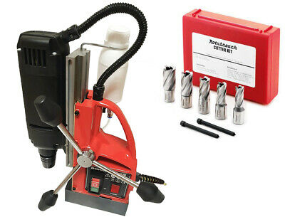 Unibor Bohrmaster Magnetic Drill 110v - With Cutter Kit - Rotabroach , Powerbor  • 348£