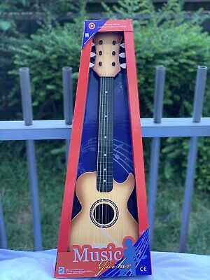 Wooden Wood Kids Children Kids Guitar Muscial Instrument 26 Inch Toy Great Gift  • 13.95£