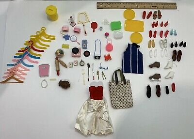 $ CDN22.78 • Buy Lot Of Barbie And Other Fashion Doll Mixed Accessories Most Vintage 60s 70s