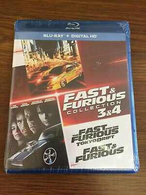 $ CDN24.99 • Buy Fast And Furious Collection: 3 And 4 (Blu-ray Disc) Paul Walker