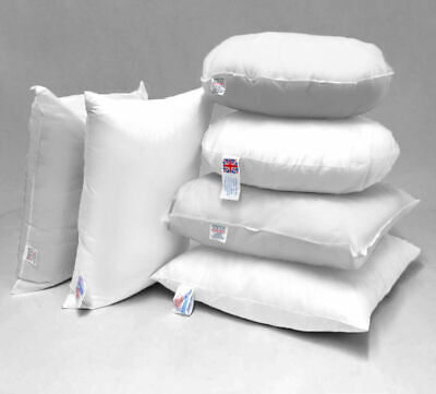 Hollowfibre Microfibre DuckFeather Cushion Pads Inners Inserts Scatters Pillows* • 5.99£