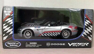 $29 • Buy 2004 Mobil Dodge Viper Srt-10 Special Edition Diecast 1:24  (new)
