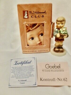 $22.99 • Buy M.I.Hummel No. 2071 Lucky Charmer* GOEBEL 1999/2000 Club Exclusive Mint In Box