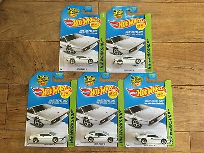 $ CDN26.75 • Buy Hot Wheels Lotus Esprit S1 007 Lot Of 5 NEW