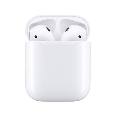 AU239.37 • Buy Apple Airpods 2nd Generation With Charging Case White Bluetooth Wireless