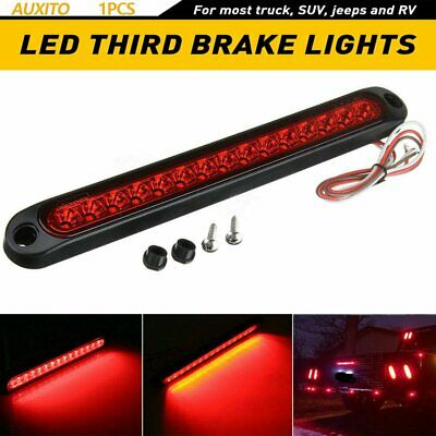 $12.99 • Buy 15 LED Car Tail Third Red Brake Stop Light Reversing Lights Strip Bar Warning