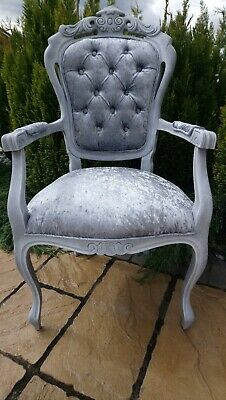 Shabby Chic French Style Carve Chair • 110£