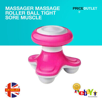 Massager Massage Roller Ball Tight Sore Muscle Tension Relief Leg Arm Foot Back • 4.99£