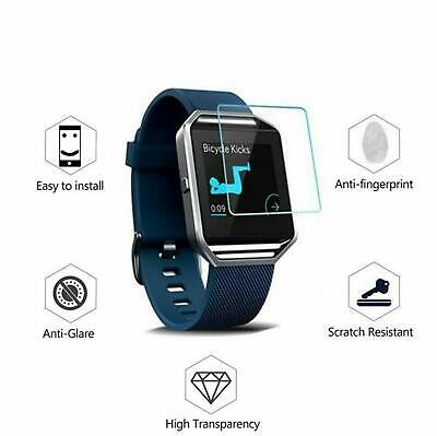 $ CDN5.46 • Buy 4x HD Full Screen Protector For Fitbit Blaze - High Quality Scratch Resistant A1