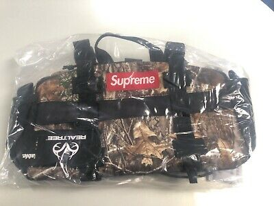 $ CDN160.65 • Buy Supreme Waist Bag (FW19) Real Tree Camo, BRAND NEW WITH TAGS 100% AUTHENTIC