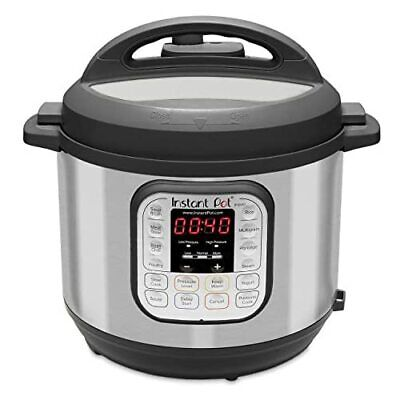 $103.33 • Buy Instant Pot DUO60 V3 6Qt 7-in-1 Multi-Use Programmable Pressure Cooker