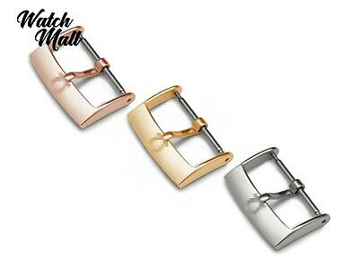 Fit OMEGA Nato Buckle Clasp For Watch Strap Band Leather Rose Gold Yellow Silver • 10.49£