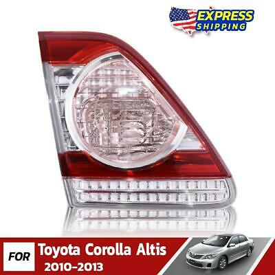 $54.90 • Buy LH Inner Tail Lights Replacement Lamp Fit For 2010-13 Toyota Corolla Altis Sedan