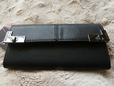 Jane Shilton Black Leather Purse • 8.50£