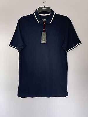 Marks And Spencer Blue Harbour Mens Polo Shirt Size S New  • 7.50£