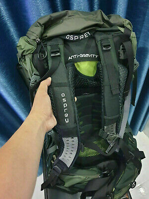 $219 • Buy Osprey Aether 70 Ag Size M + Rain Cover / Green Color