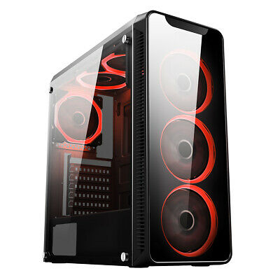 ULTRA FAST I3 I5 I7 Desktop Gaming Computer PC 2TB + SSD 16GB RAM GTX 1660 Win10 • 319.99£