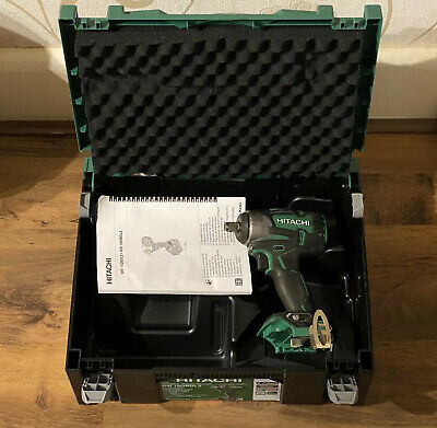 Hitachi Cordless Impact Wrench WR 18DBDL2 & Case Please Note No Battery/Charger • 119.99£