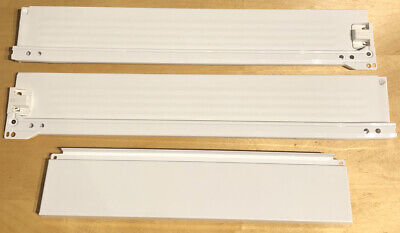 Ikea Haggeby Drawer Blum Side Rails White For Sektion Kitchen Cabinet • 18.09£