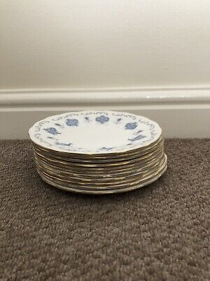 Vintage Royal Osborne Bone China Tea Service 11 Small Plates • 4.60£
